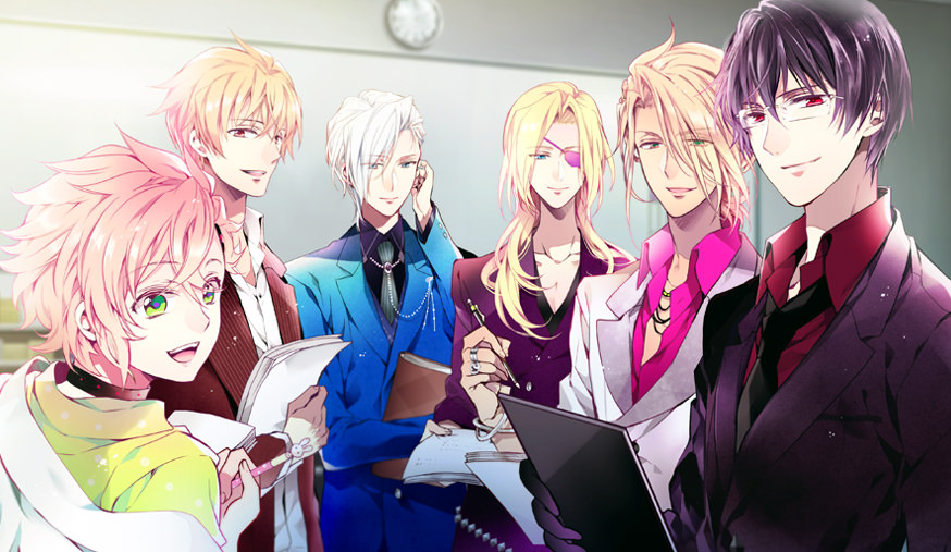 Anime boys who wants otome game pics pt1 - Anime gamer boy ...